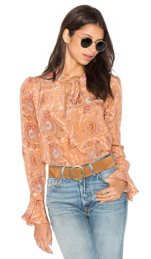MAJORELLE Canyon Shirt in Peach