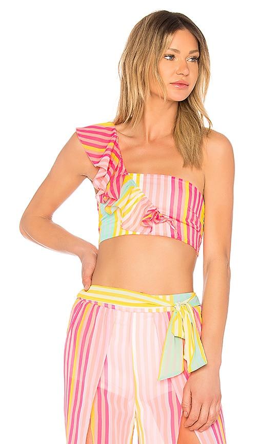 MAJORELLE Bonbon Top in Pink