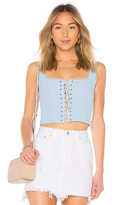 MAJORELLE TOP CROPPED GYPSUM 5PKBaaH