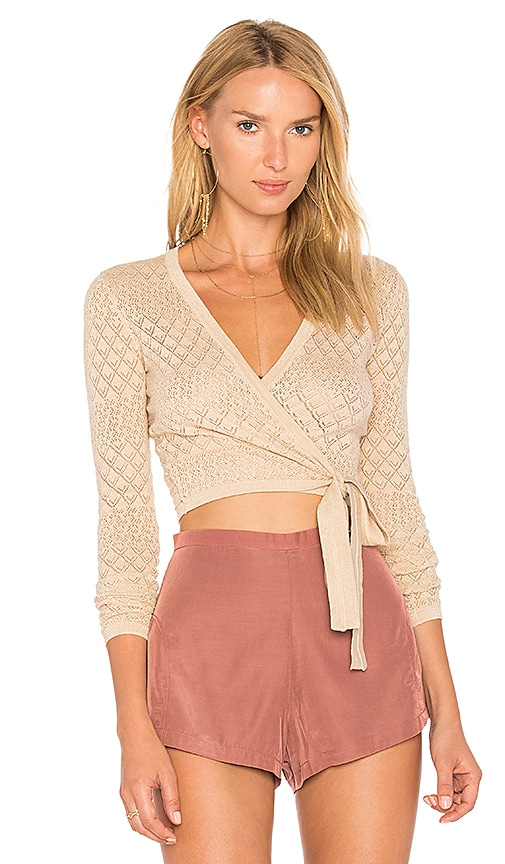 MAJORELLE Adriana Top in Beige