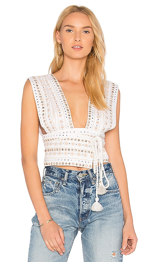 MAJORELLE Breanna Top in Ivory