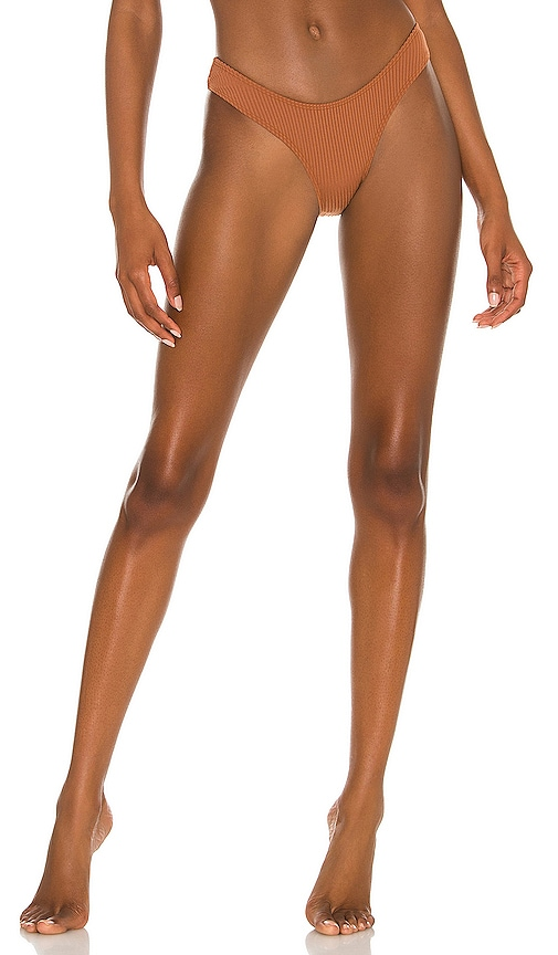 Minimale Animale The Wall Street Rib Brief Bikini Bottom