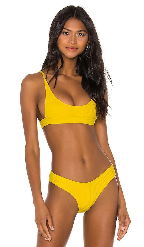 The Vista Rib Bikini Top