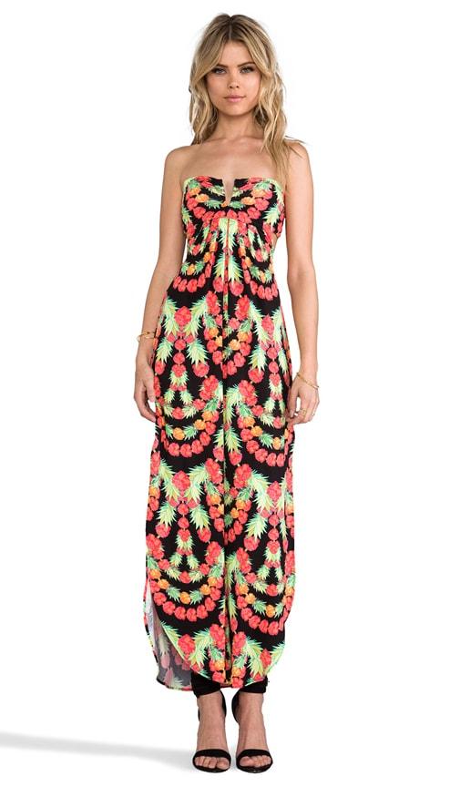 Modal V-wire maxi Dress