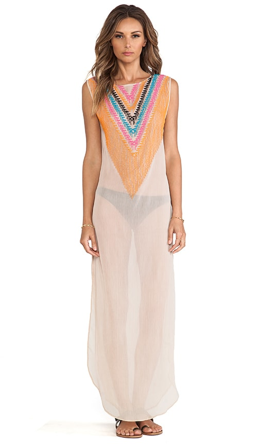 Chiffon Beaded Dashiki