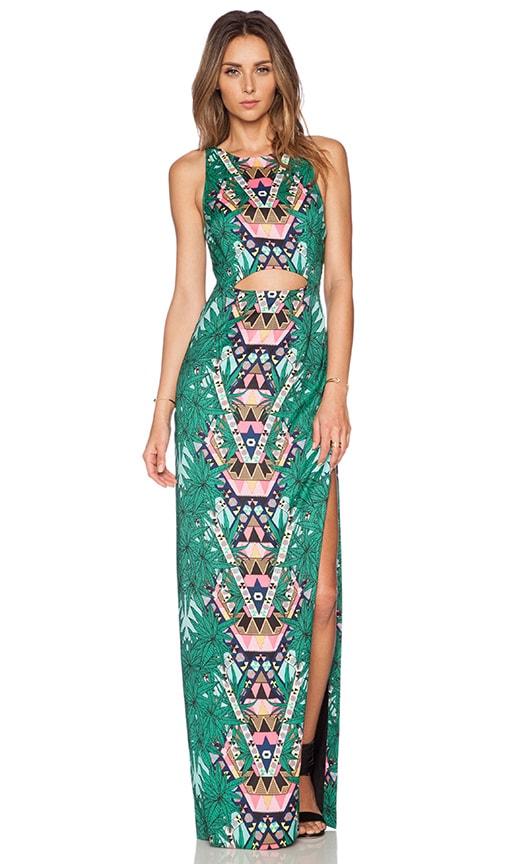Cut Out Column Maxi Dress