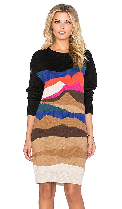 Mara Hoffman Knit Sweater Dress in Landscape