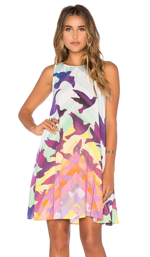 Mara Hoffman Swing Mini Dress in Prismatic