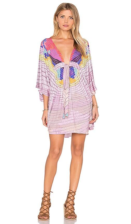 Mara Hoffman Modal Poncho in Lavender