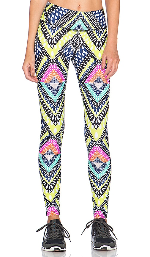 Mara Hoffman Long Legging in Lightspeed Navy