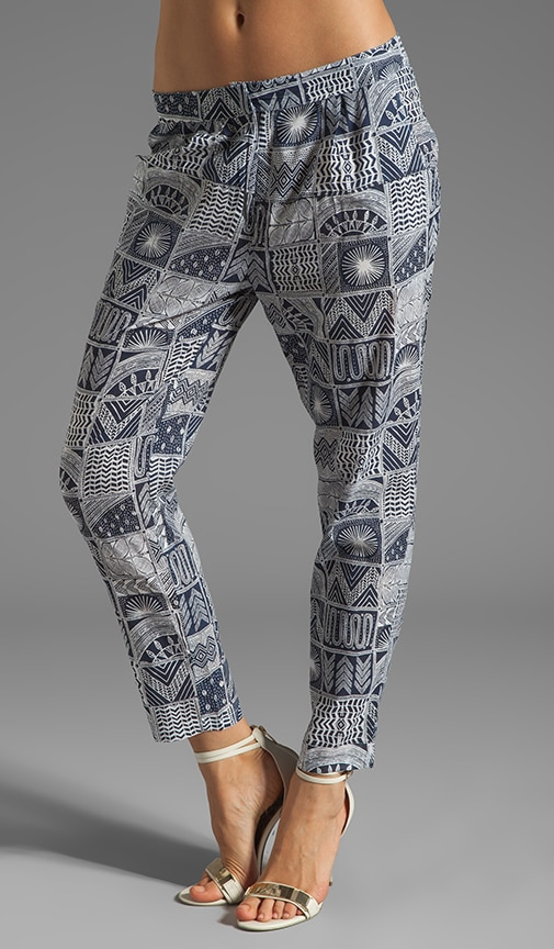 Printed Slouch Pant