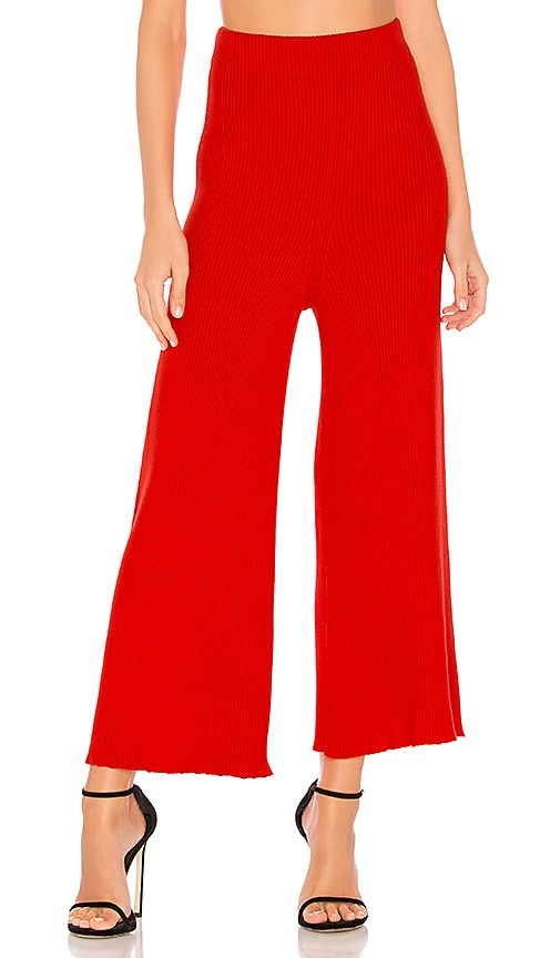 Mara Hoffman Nellie Pant in Red