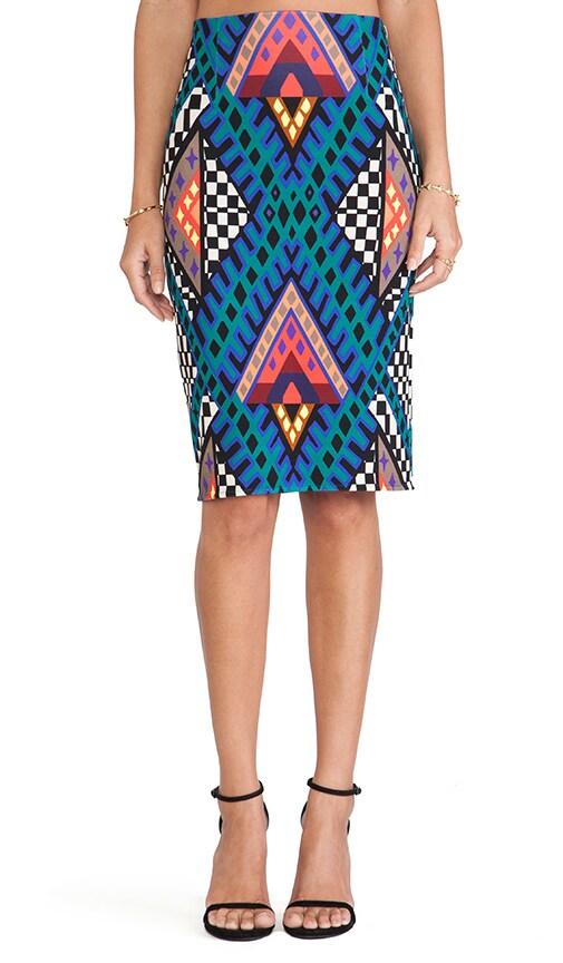 High Waisted Pencil Skirt