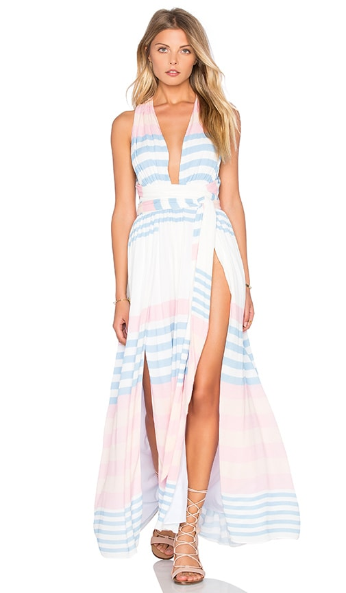 Mara Hoffman Maxi Dress in Blue