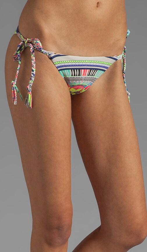 Braided Tie-Side Bikini Bottom