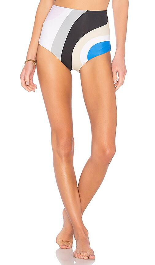 Mara Hoffman Lydia Bikini Bottom in Purple