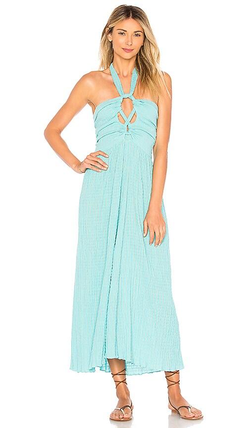 Mara Hoffman Annika Dress in Turquoise