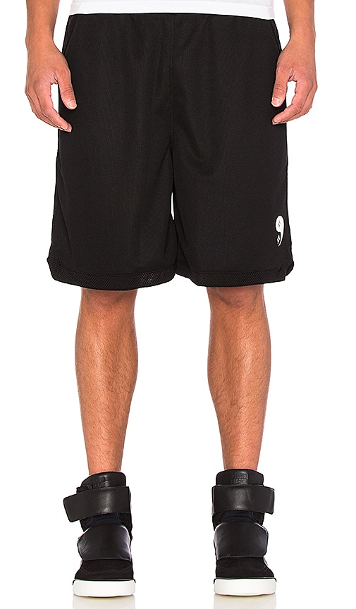 Marcelo Burlon Pissis Short in Black