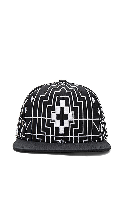 Marcelo Burlon Starter Salomon Cap in Black