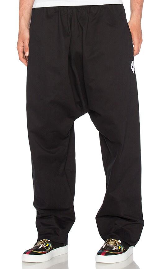 Marcelo Burlon Guines Pant in Black & White