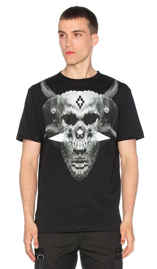 Marcelo Burlon Talca Tee in Black