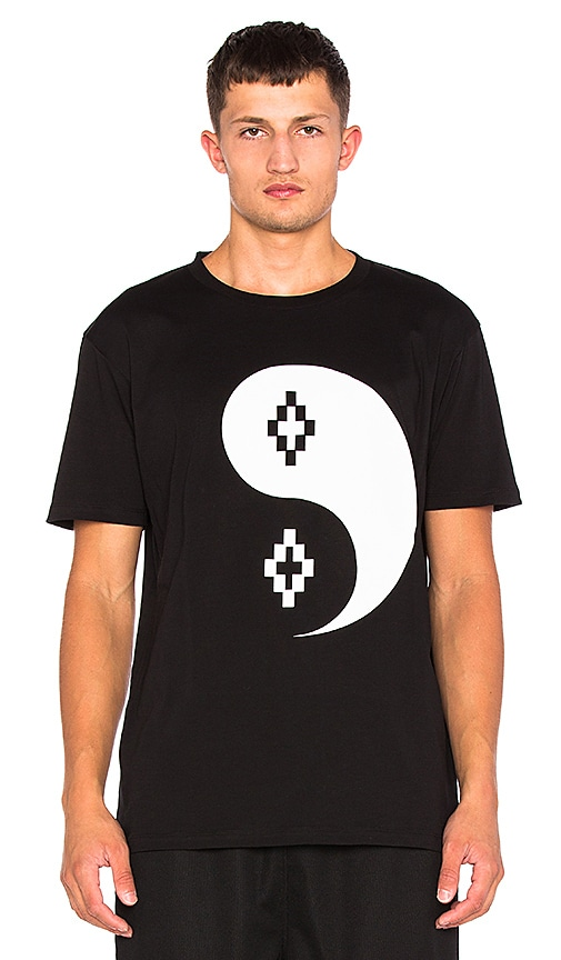 Marcelo Burlon Pissis Tee in Black & White