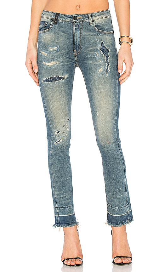 Marcelo Burlon Belinda Slim Fit Jean in Vintage Wash