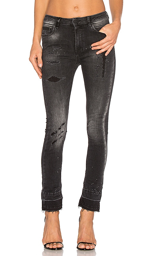 Marcelo Burlon Thalida Slim Fit Jean in Vintage Wash