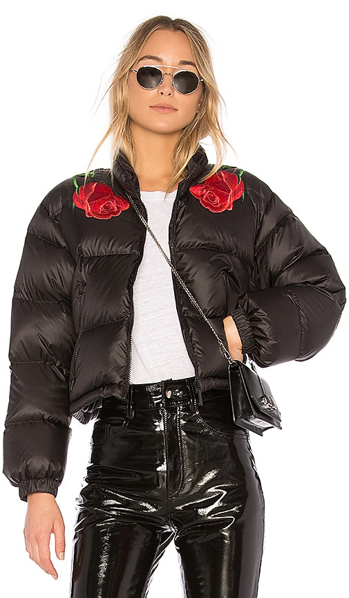 Marcelo Burlon Chakinter Down Jacket in Black