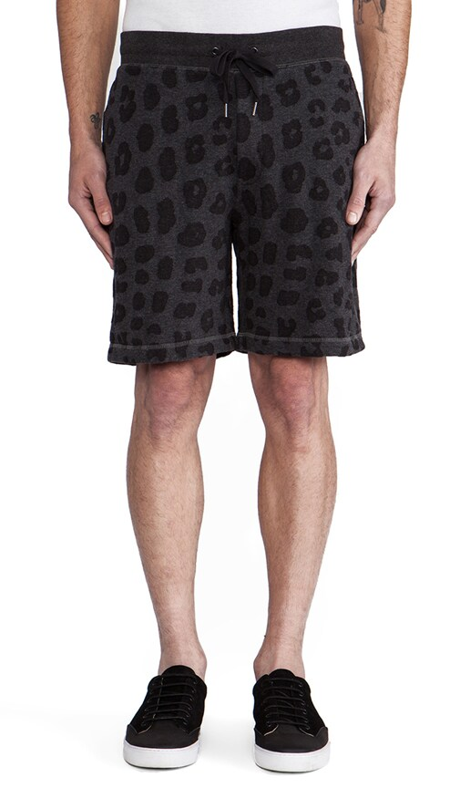 London Leopard Sweatshort