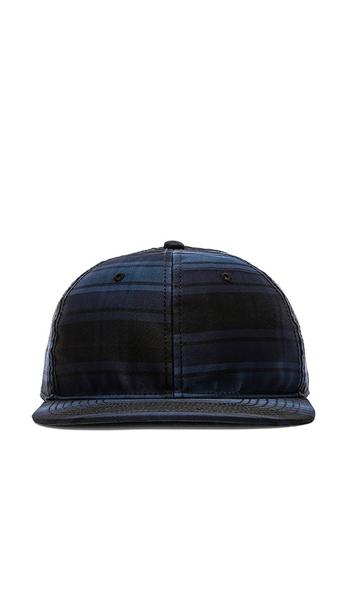 Marc by Marc Jacobs Renton Plaid Hat in Marine Blue Multi  f44d258426a