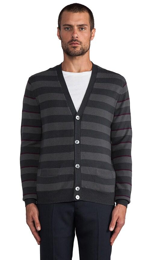 Yukon Stripe Cardigan
