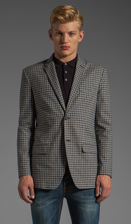 Bundy Plaid Blazer