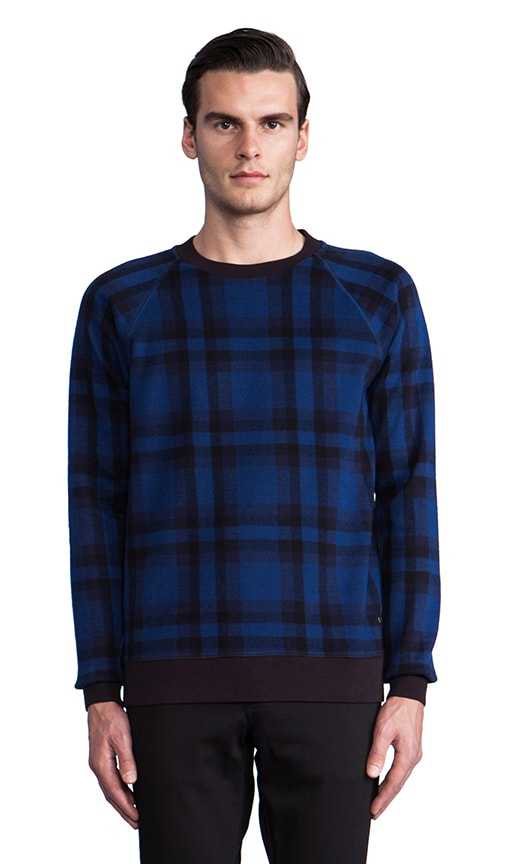 Sheffield Plaid Sweatshirt