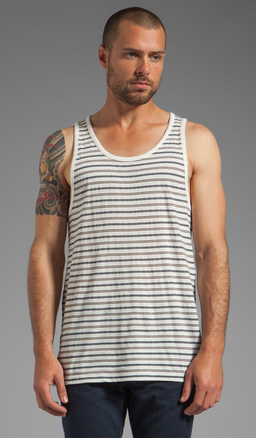 Richard Stripe Jersey Tank