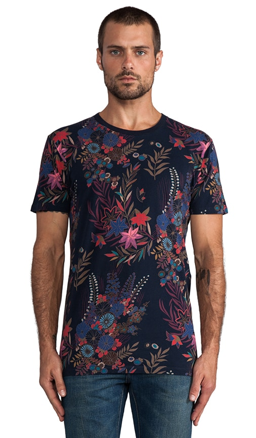 T-shirt Whichita imprimé fleurs