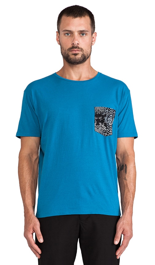 Rex Snake Patch Pocket Tee