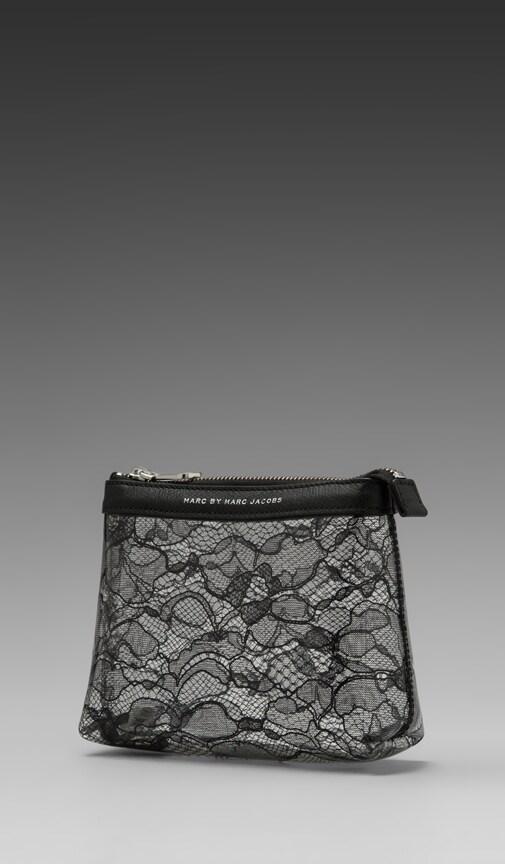 Lace Landscape Cosmetic Bag