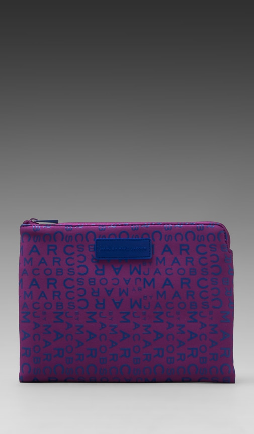 New Jumbled Logo Neoprene Tablet Zip Case