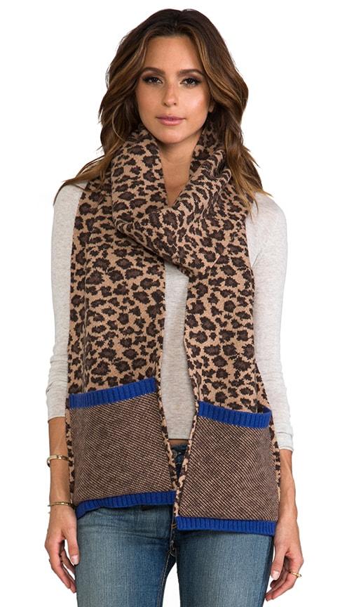 Lenora Leopard Scarf