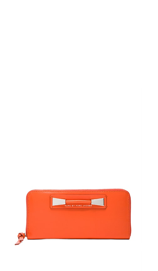 Femme Fatale Slim Zip Around Wallet