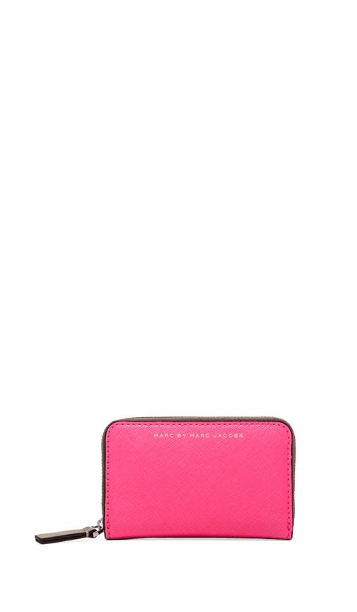 Sophisticato Colorblocked Zip Card Case