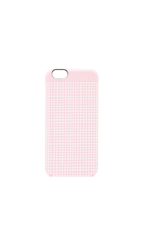 Mini Gingham Mirror Selfie iPhone 6 Case