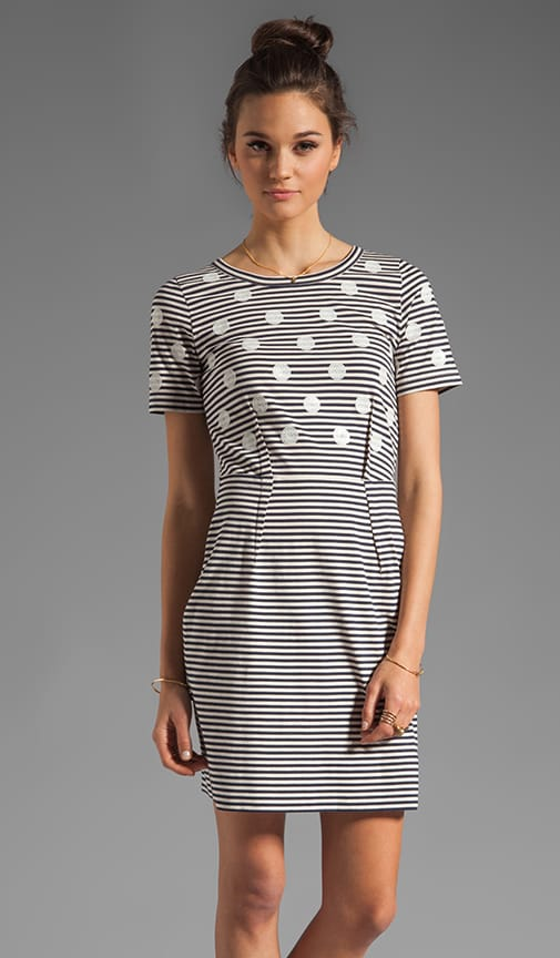 Resort Willa Dotted Jersey Dress