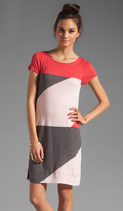 Resort Tanya Colorblock Jersey Dress