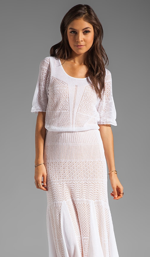 Resort Zee Pointelle Sweater Dress