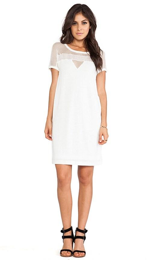Texture Tee Linen Dress