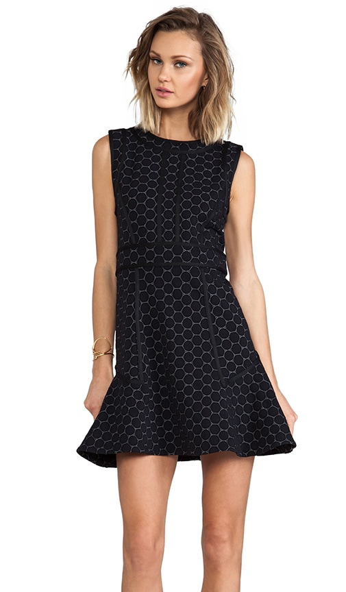 Leyna Dotty Ponte Dress