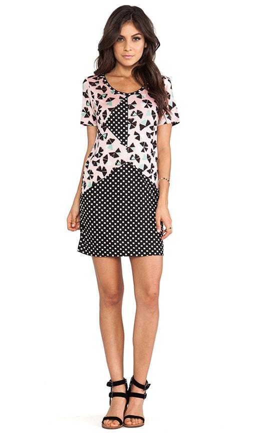 Amelia Printed Jersey Dress