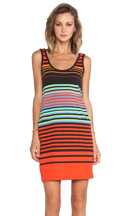 Paradise Stripe Jersey Tank Dress